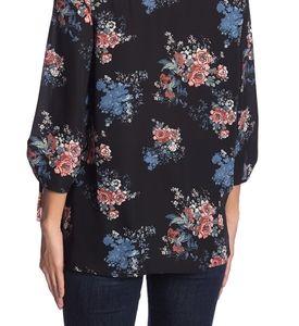 everleigh Tops - Everleigh | NWT black floral 3/4 sleeve blouse